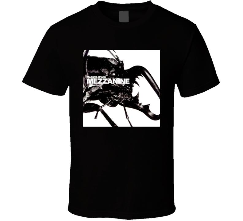 Massive Attack Mezzanine 90's Rock Album Cool Classic  Fan T Shirt