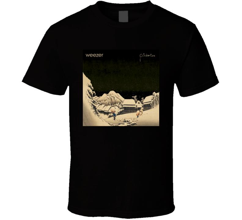 Weezer Pinkerton 90's Rock Album Cool Classic  Fan T Shirt