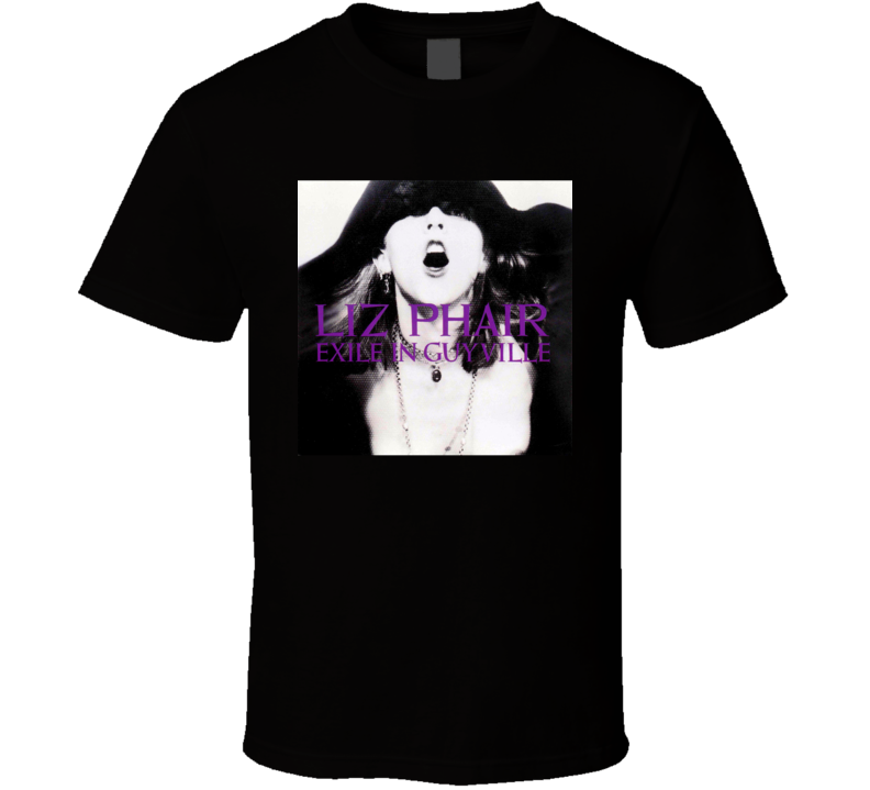 Liz Phair Exile In Guyville 90's Rock Album Cool Classic  Fan T Shirt