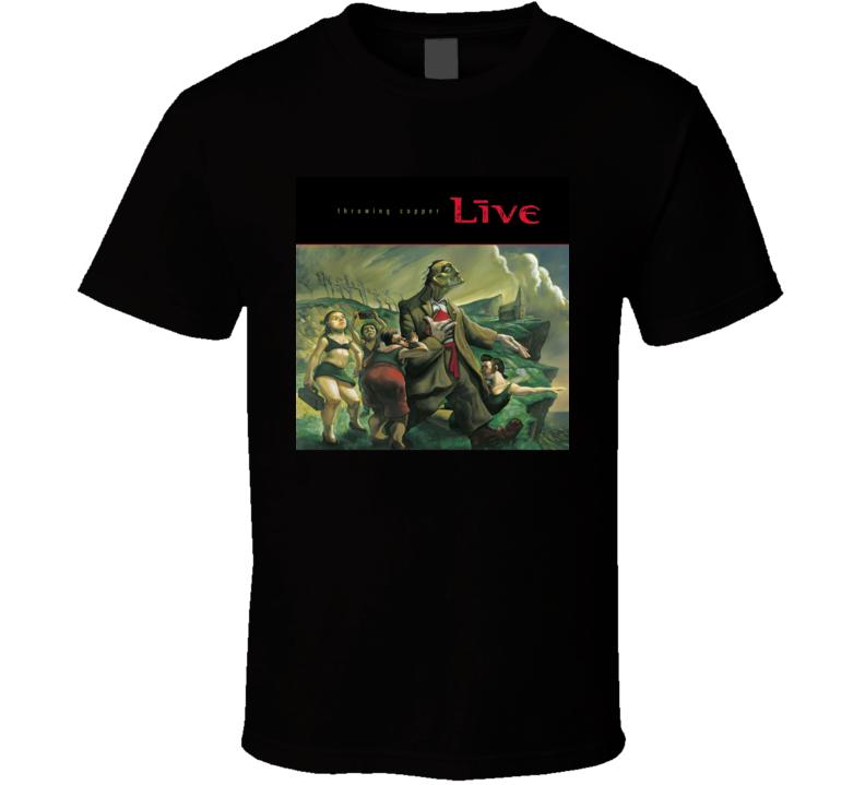 Live Throwing Copper 90's Rock Album Cool Classic  Fan T Shirt