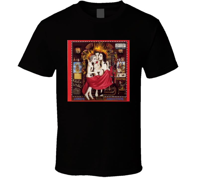 Jane's Addiction Ritual De Lo Habitual 90's Rock Album Cool Classic  Fan T Shirt