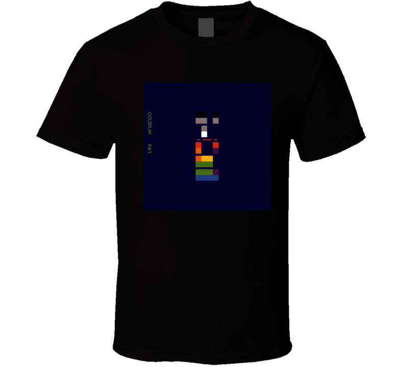 Coldplay X&Y 21st Century Rock Album Cool Classic  Fan T Shirt
