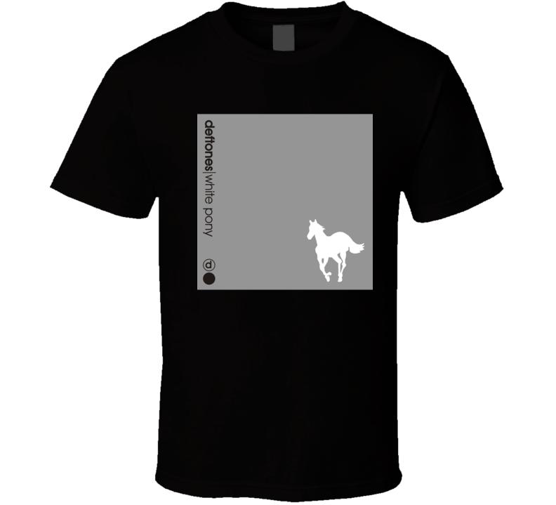 Deftones White Pony 21st Century Rock Album Cool Classic  Fan T Shirt