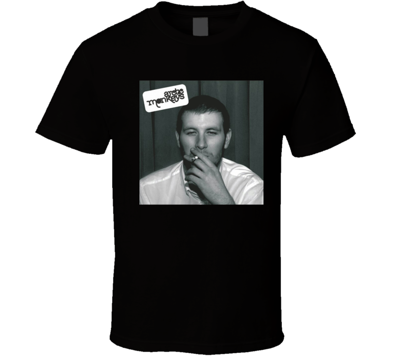 Arctic Monkeys Whatever People Say I Am That's What I'm Not 21st Century Rock Album Cool Classic  Fan T Shirt