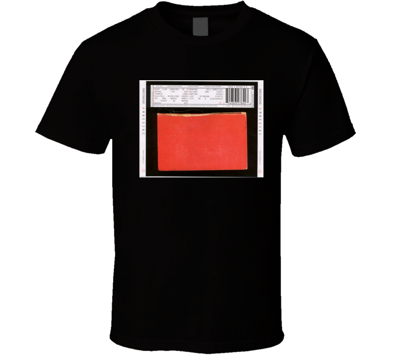 Radiohead Amnesiac 21st Century Rock Album Cool Classic  Fan T Shirt