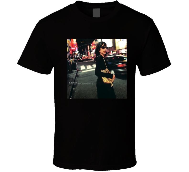 PJ Harvey Stories From The City Stories From The Sea 21st Century Rock Album Cool Classic  Fan T Shirt