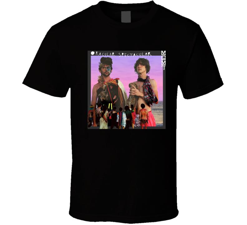 MGMT Oracular Spectacular 21st Century Rock Album Cool Classic  Fan T Shirt