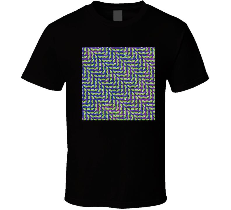 Animal Collective Merriweather Post Pavilion 21st Century Rock Album Cool Classic  Fan T Shirt