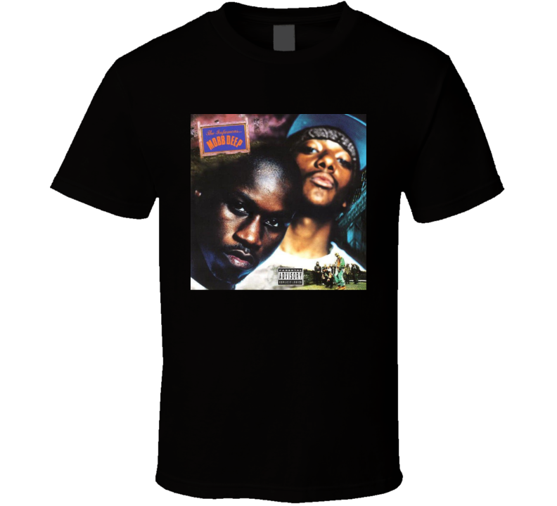 The Infamous Mobb Deep Rest In Peace Hip Hop Rap Album T Shirt