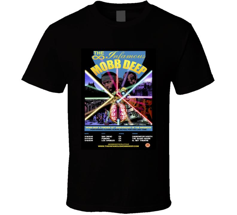Mobb Deep Anniversary Concert Rap Hip Hop Music T Shirt