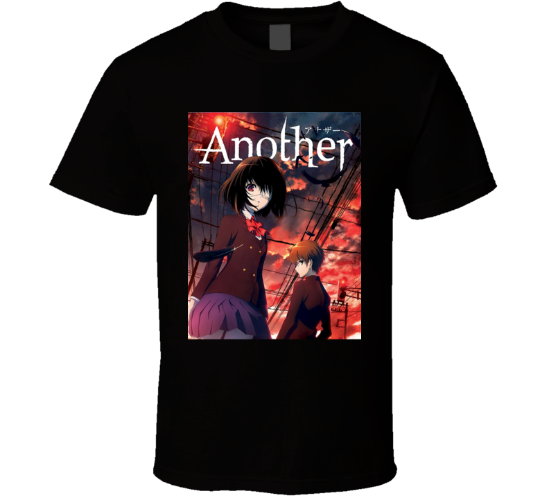 Another Anime TV Show Poster Cool Fan T Shirt