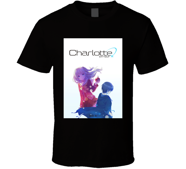 Charlotte Anime Tv Show Poster Cool Fan T Shirt