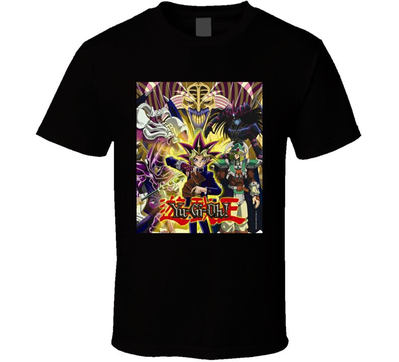 Yu Gi Oh Anime Tv Show Poster Cool Fan T Shirt