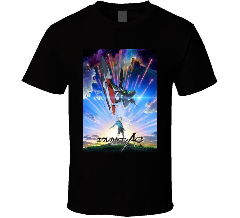 Eureka Seven Anime TV Show Poster Cool Fan T Shirt
