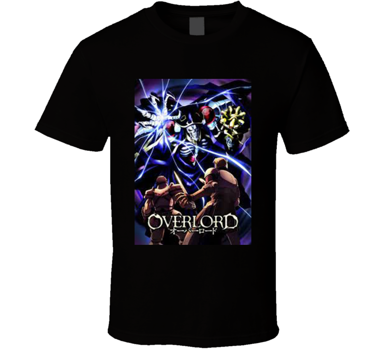 Overlord Anime TV Show Poster Cool Fan T Shirt