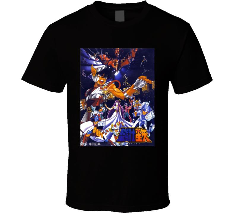 Saint Seiya anime movie and tv show poster T Shirt