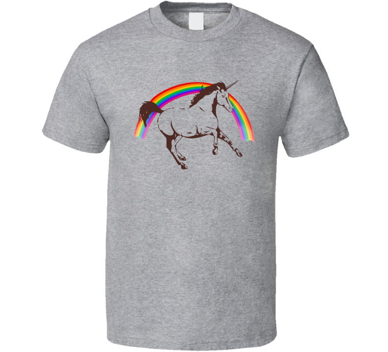 Logan Movie Laura Kinney Horse Rainbow Cool Movie T Shirt