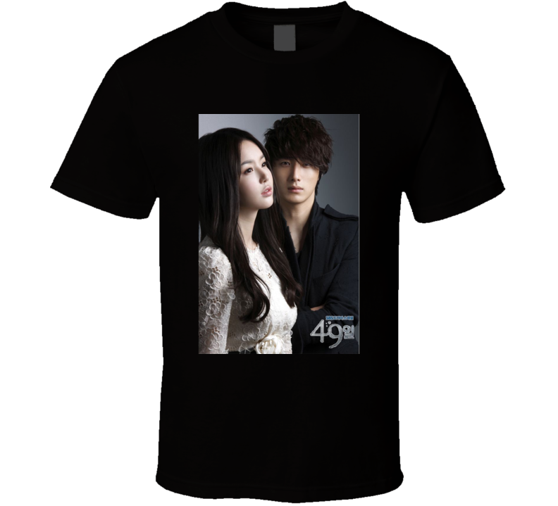 49 Days anime movie and tv show poster T Shirt