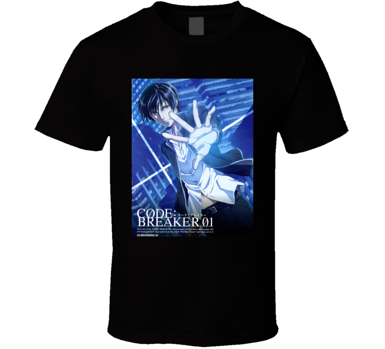 CodeBreaker anime movie and tv show poster T shirt