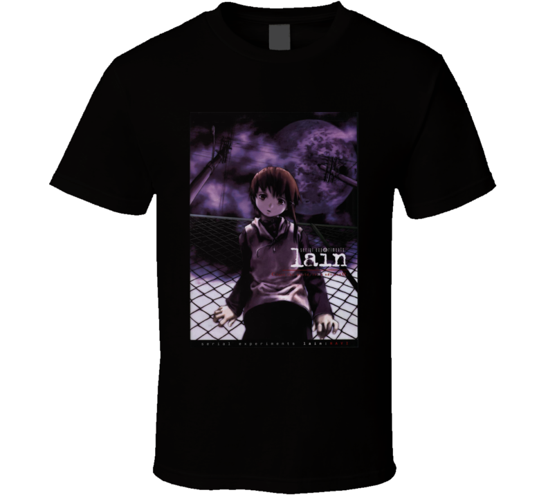 Serial Experiments Lain anime movie and tv show poster