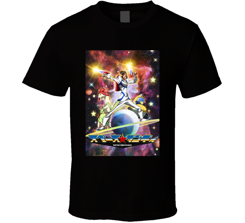 Space Dandy anime movie and tv show poster T Shirt