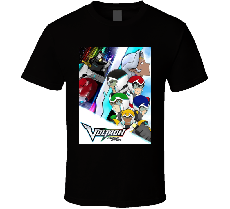 Voltron anime movie and tv show poster T Shirt