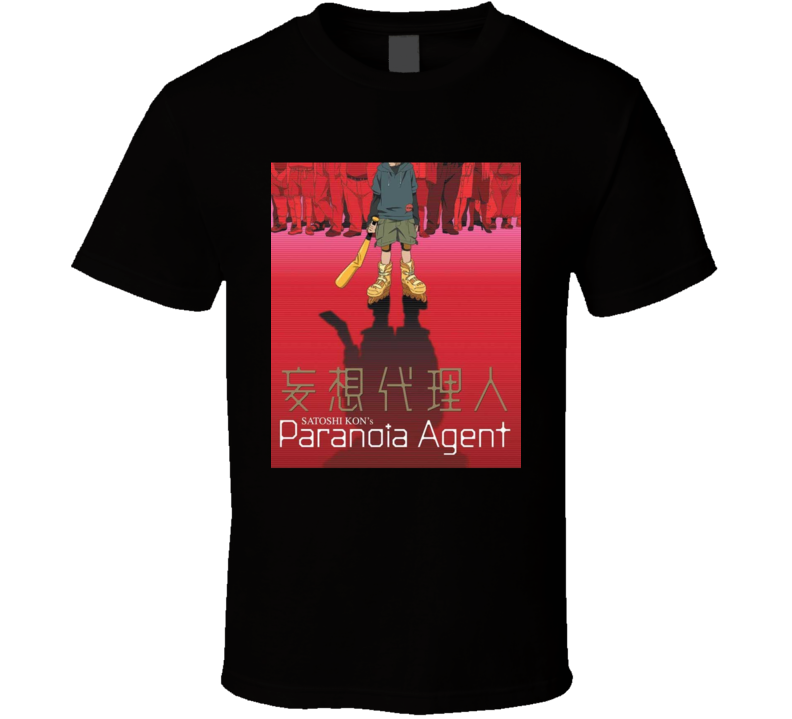 Paranoia Agent Anime Tv Show Poster Cool Fan T Shirt
