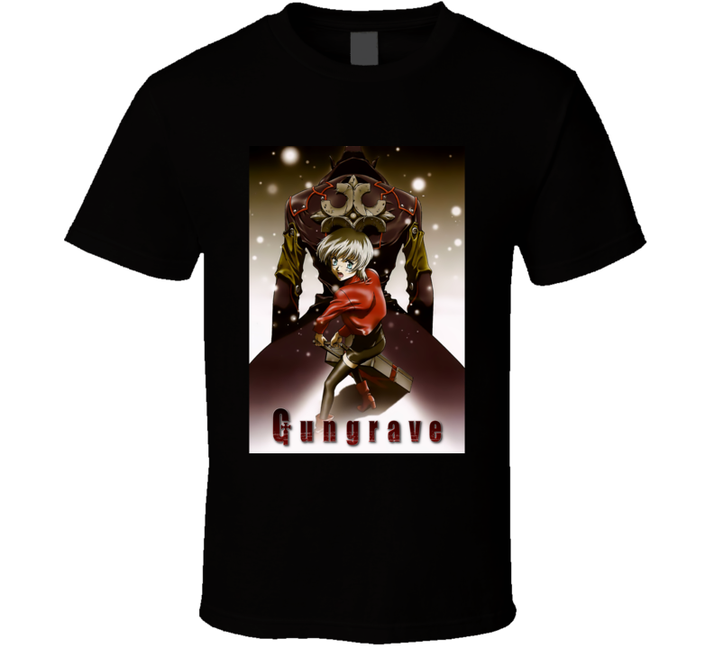 Gungrave Anime Tv Show Poster Cool Fan T Shirt