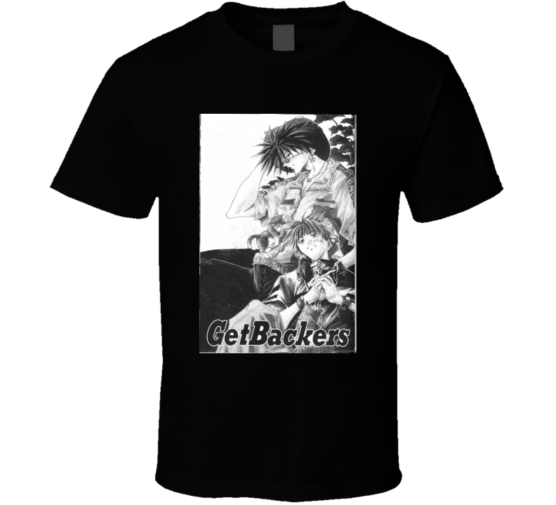 Getbackers Anime Tv Show Poster Cool Fan T Shirt