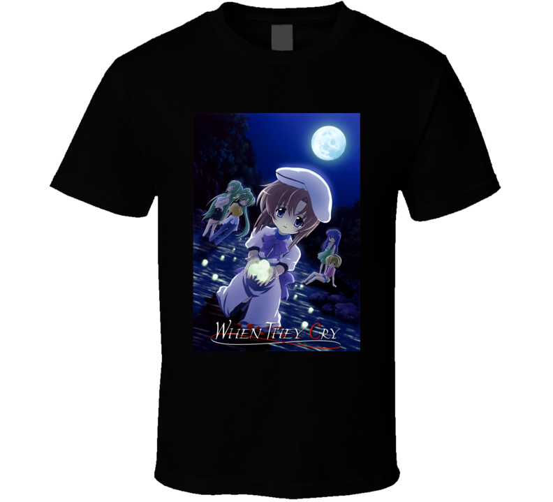 When They Cry  Higurashi T Shirt