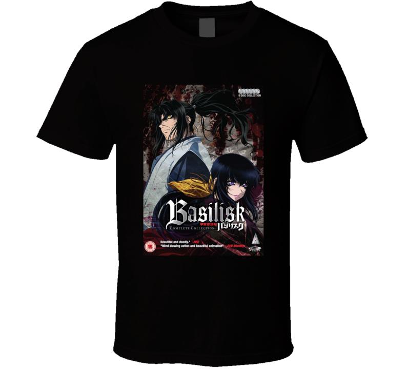 Basilisk Anime Tv Show Poster Cool Fan T Shirt