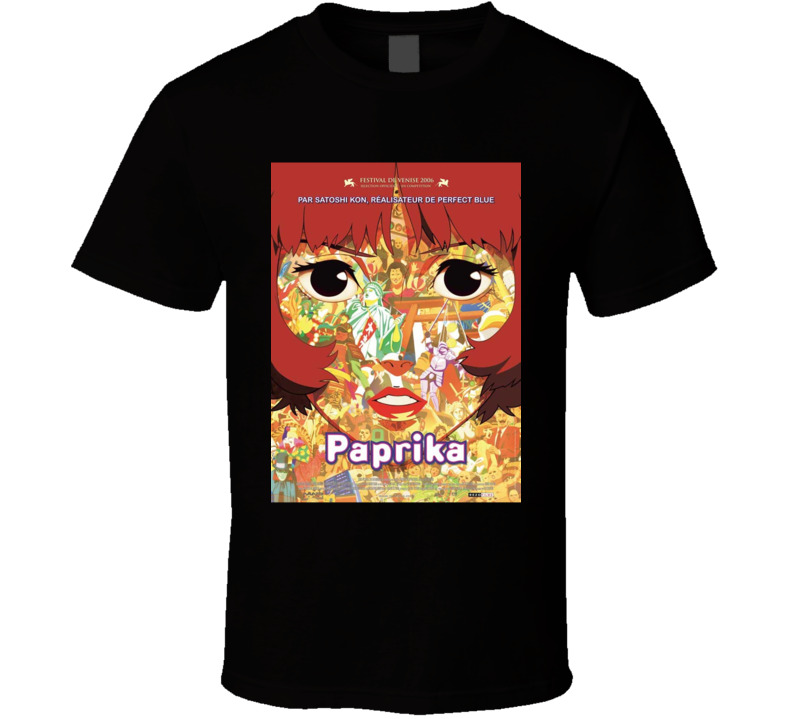 Paprika Anime Tv Show Poster Cool Fan T Shirt