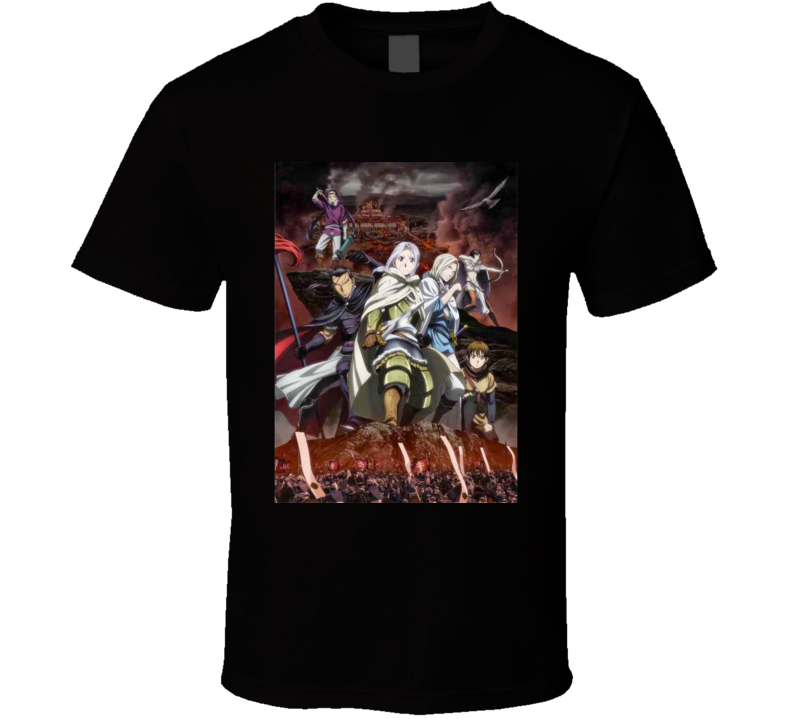 Heroic Legend Of Arslan Anime Tv Show Poster Cool Fan T Shirt