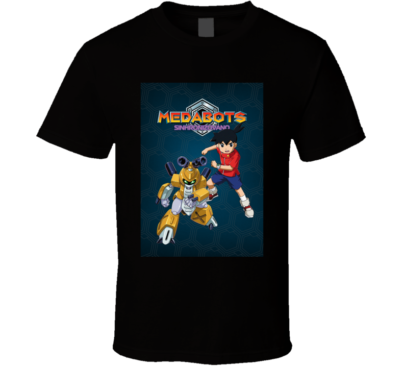 Medabots anime movie and tv show poster T Shirt