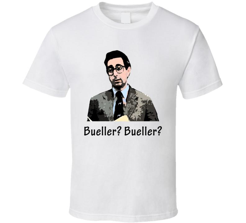 Ben Stein Ferris Buellers Day Off T Shirt