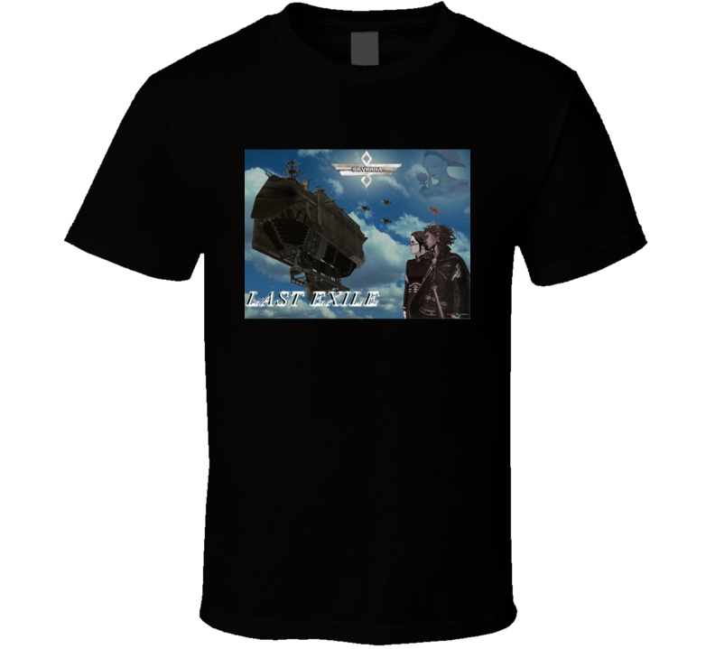 Last Exile Anime Tv Show Poster Cool Fan T Shirt