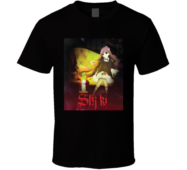 Shiki Anime Tv Show Poster Cool Fan T Shirt