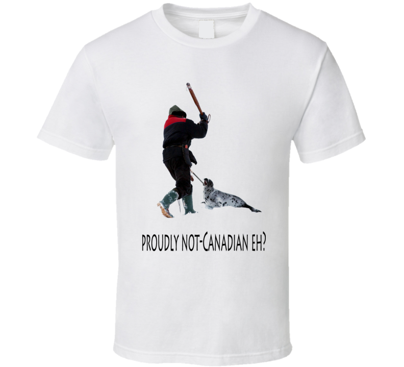 Canadian Seal Hunt 3 T Shirt