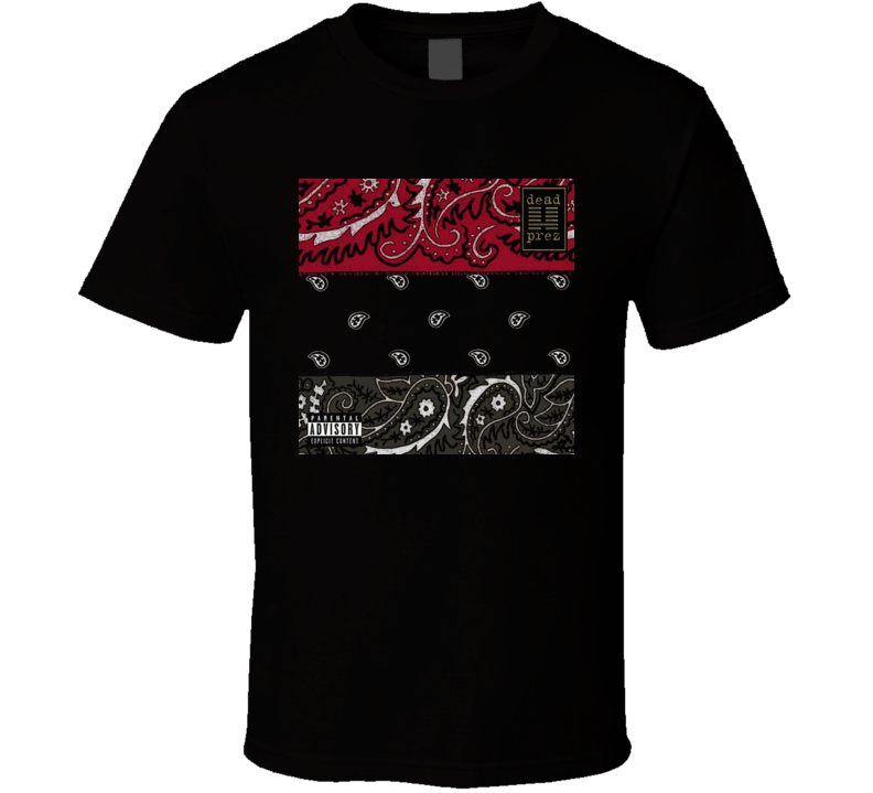 Dead Prez Album Cover T Shirt