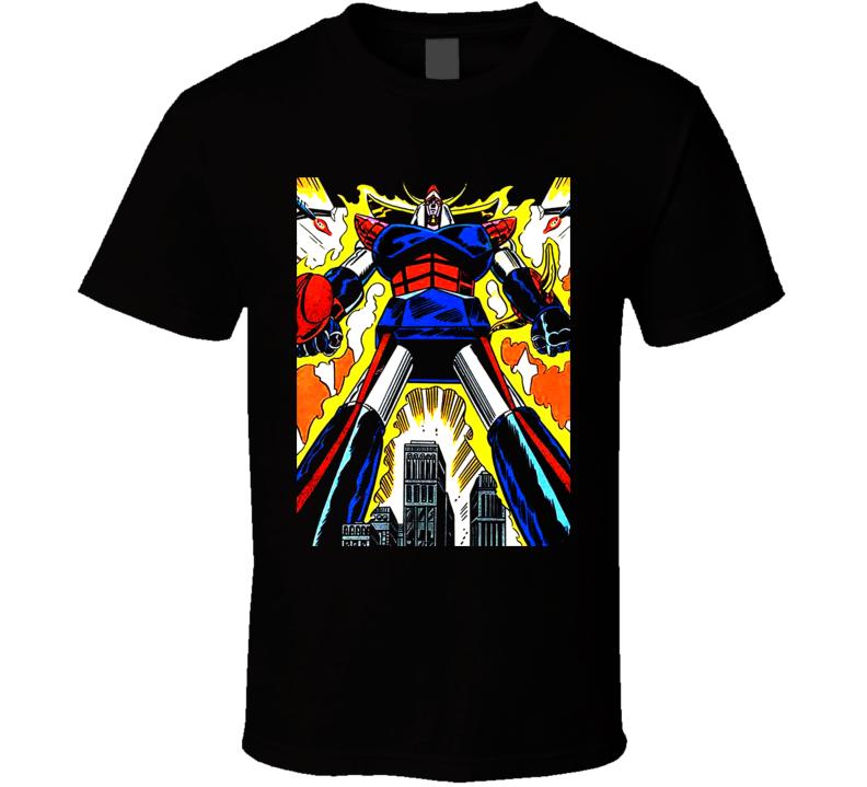 Shogun Warriors Raideen Comic Anime T Shirt