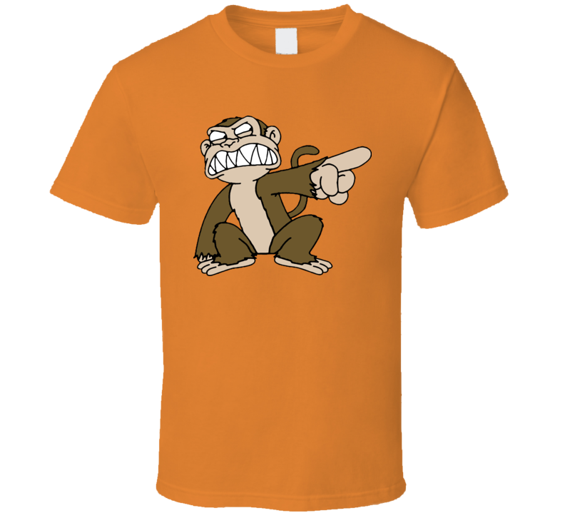 Evil Monkey Fg Tv T Shirt