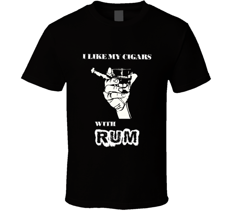 Cigar And Rum Hobby T Shirt