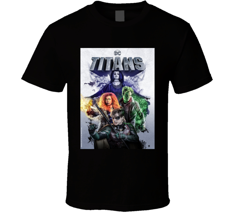 Titans Comic Book Sci Fi  Action Tv Show  T Shirt
