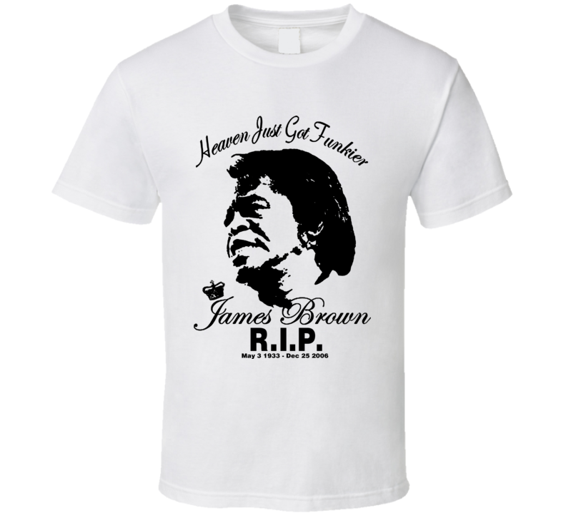 James Brown Godfather of Soul T Shirt