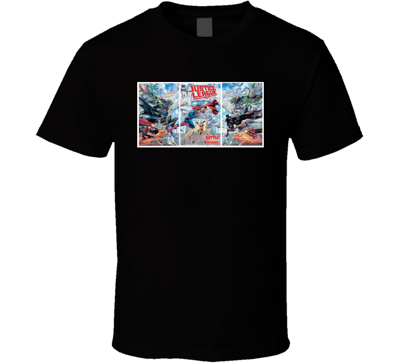 Justice League Issue 20 Comic Book T Shirt