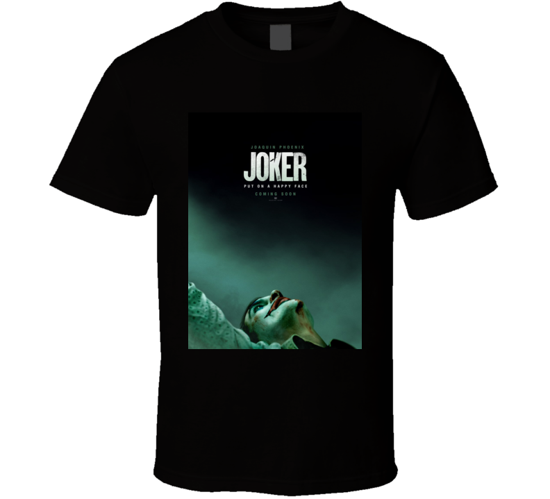 Joker Joaquin Phoenix Comic Book Movie T Shirt