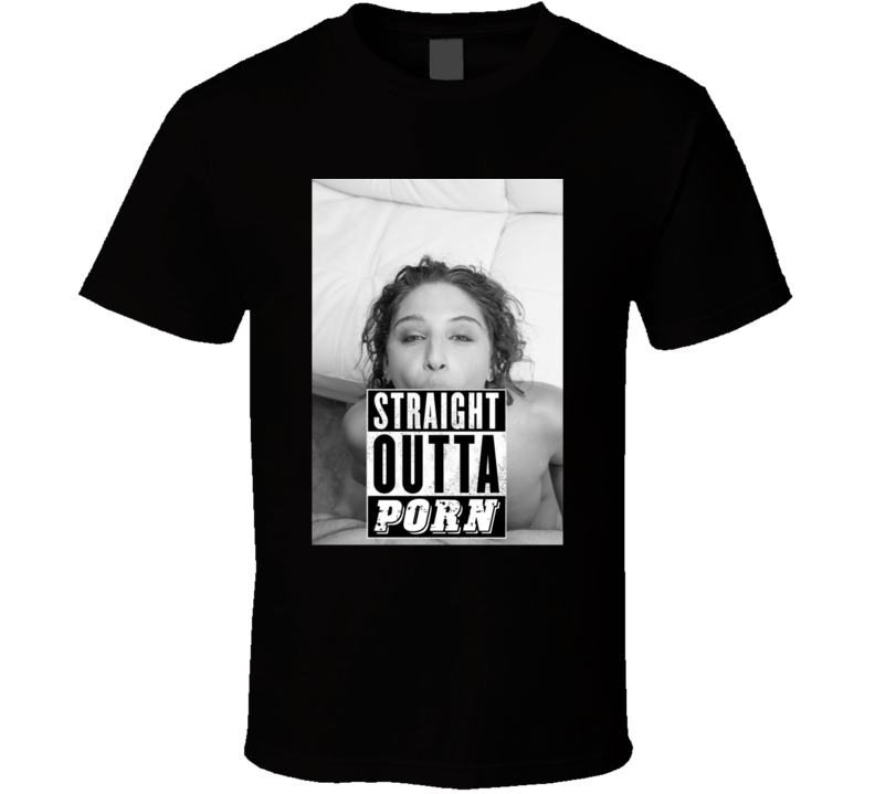 Abella Danger Straight Outta Porn Funny Movie T Shirt T Shirt