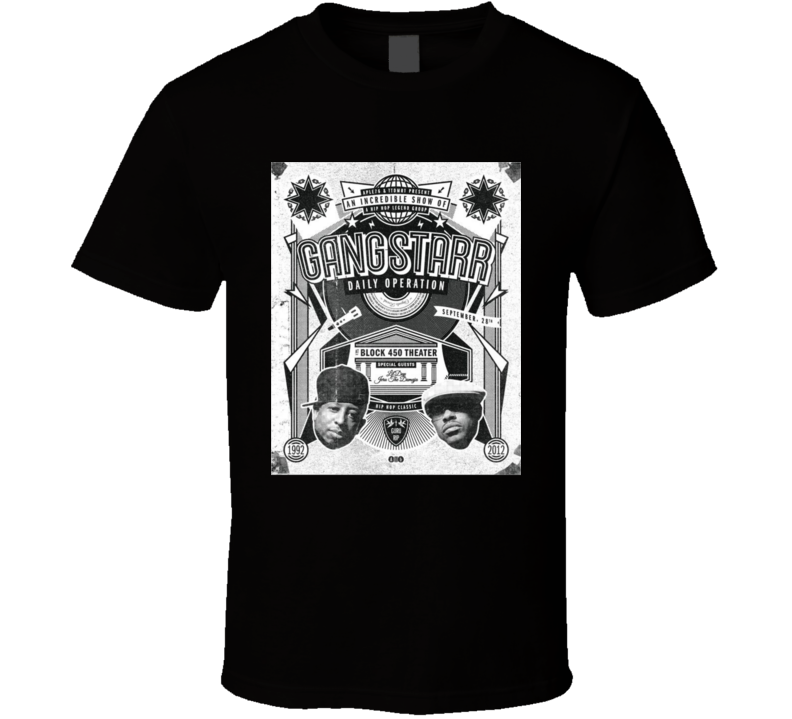 Gangstarr Rest In Peace Guru Hip Hop Music T Shirt