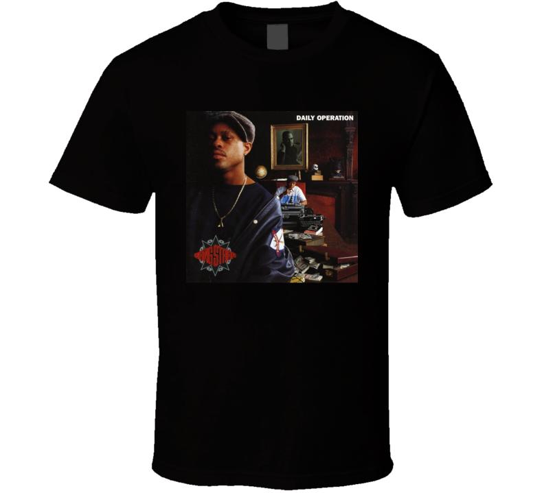 Gangstarr Daily Operation Hip Hop Album T Shirt
