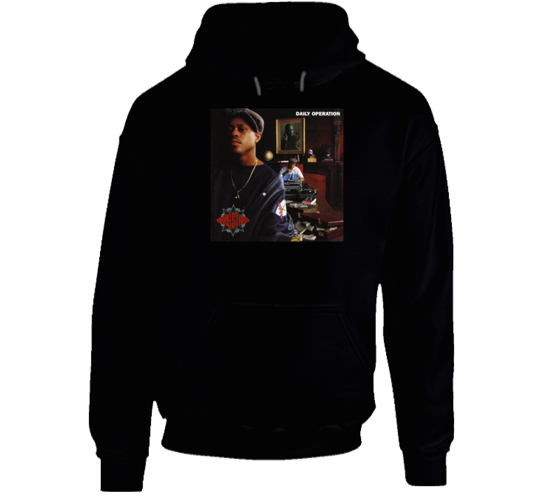 Gangstarr Daily Operation Hip Hop Album Hoodie
